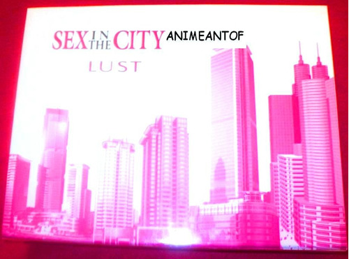 perfume set sex in the city lust estuche elegant de 4 piezas