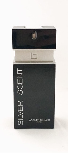 perfume silver scent 100ml-jacques bogart + brinde amostra