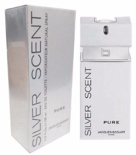 perfume silver scent pure 100ml jacques bogart 100% original