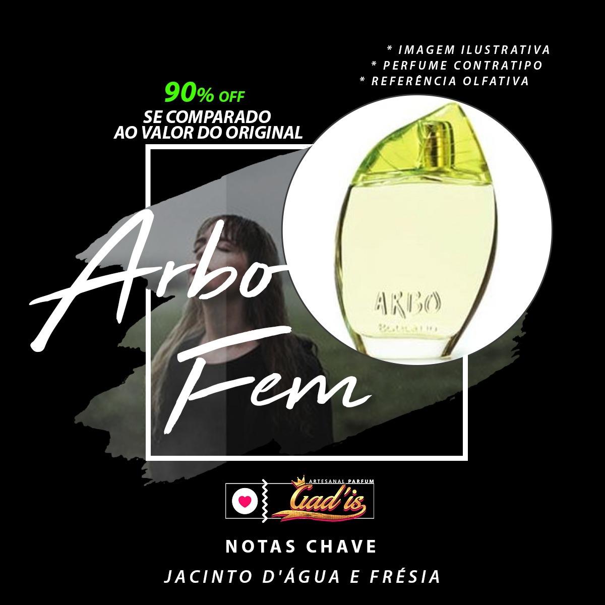 6a63f8eade9 Perfume Similar N° 268 Inspirado Em Arbo Feminino 120ml - R  114