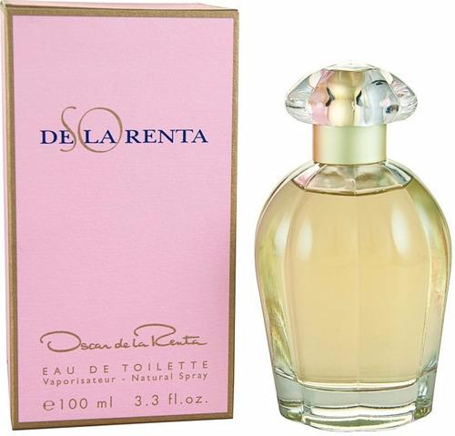 perfume so de la renta 100 ml mujer original envio hoy