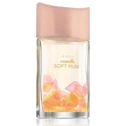 perfume, soft musk vainilla oriental , 50 ml. avon. spray