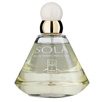 perfume sola edt feminino 100ml via paris