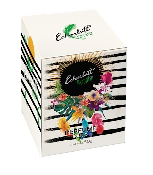perfume sólido (en crema) echarlatt paradise x50grs