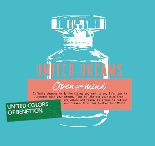 perfume spray benetton united dreams para damas original