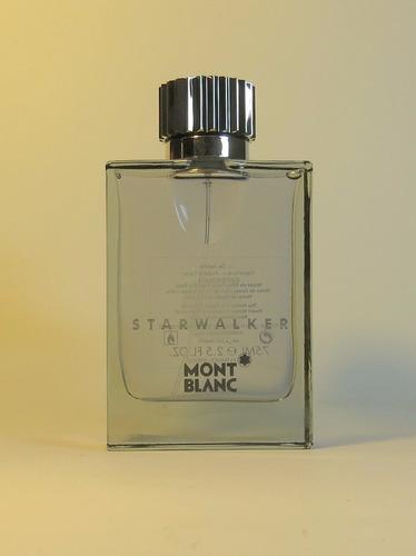 perfume starwalker de montblanc 75ml tester / probador