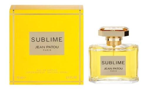perfume sublime jean patou for women eau de parfum 75ml novo