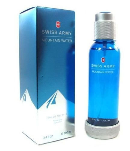 perfume swiss army mountain water 100ml para hombre