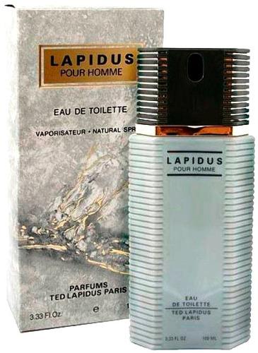 perfume ted lapidus hombre original 100 ml envio gratis