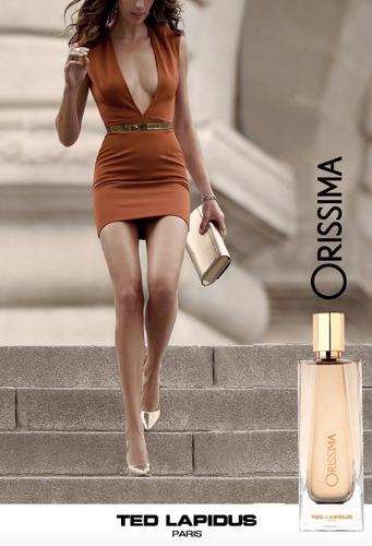 perfume ted lapidus - orissima - eau de parfum -100ml-mujer.