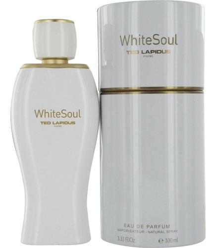 perfume ted lapidus white soul edp 100 ml. swarovski element