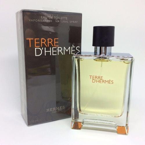 perfume terre d'hermes 100ml edt 100% original 12x sem juros