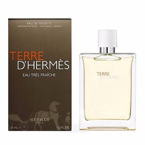 perfume terre d'hermès eau tres fraiche masculino 125 ml