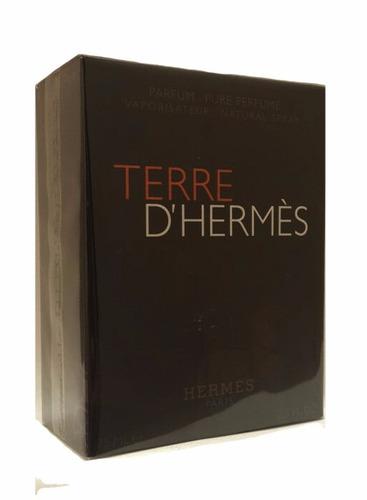 perfume terre d`hermes parfum masculino 75ml- pure parfum