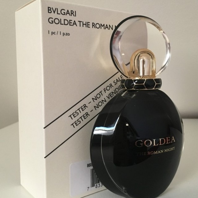 fdf454f71f8 Perfume Tester Bvlgari Goldea The Roman Night Edp 75ml Novo - R  279 ...