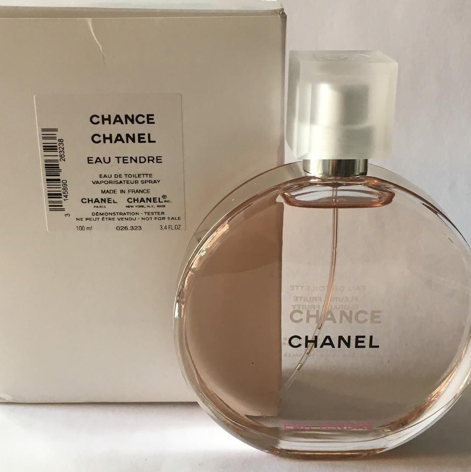 b124abb08 perfume tester chanel chance eau tendre 100ml original. Carregando zoom.