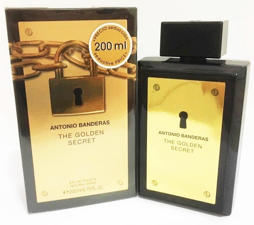 68ab8102c0 perfume the golden secret antonio bandeiras 200 ml original. Carregando zoom .