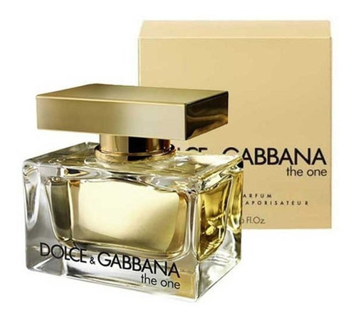 perfume the one feminino 75ml dolce gabbana original lacrado
