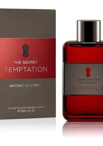 perfume the secret temptation x 100ml antonio banderas origi