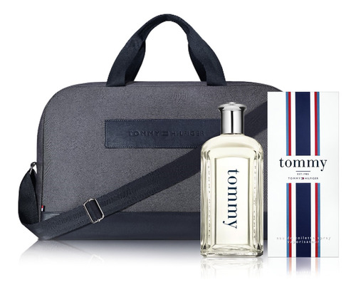 perfume tommy men edt 200ml tommy hilfiger + bolso de regalo