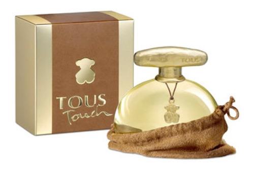perfume touch 100ml tous dama, 100% originales