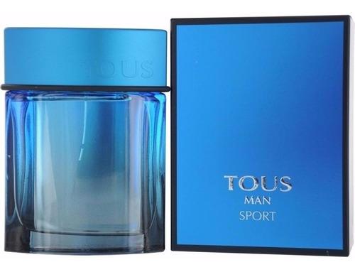 perfume tous man sport -- 100ml -- original