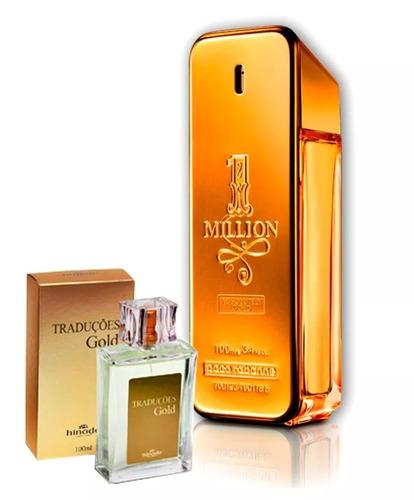 perfume traducões gold masc e femi + brinde