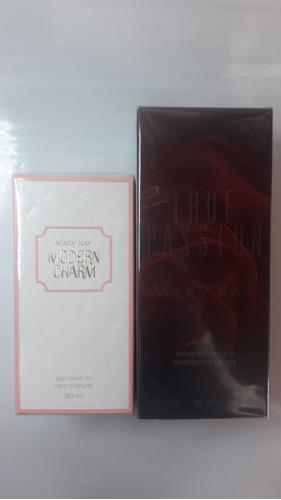 perfume true passion + modern charm feminino mary kay