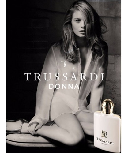 perfume trussardi donna for women edp 100ml fem - original