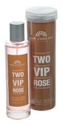 perfume two vip rose dama 100ml