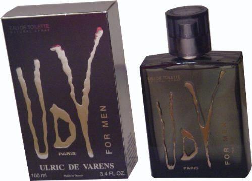 perfume udv cinza paris 100ml ulric d varens 100% original..