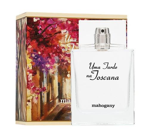 perfume uma tarde na toscana mahogany * pronta entrega/