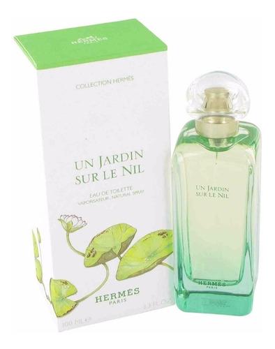 perfume un jardin sur le nil hermés edt 50ml unissex