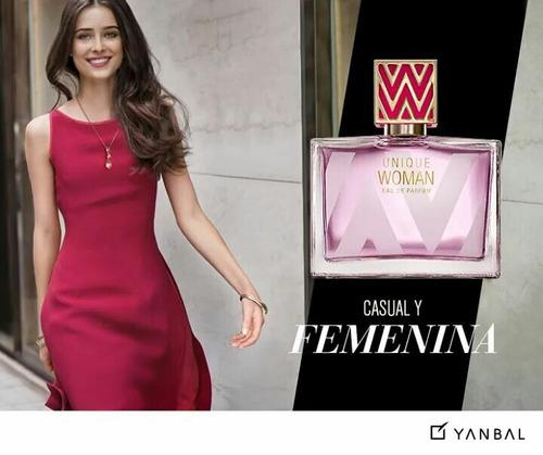 perfume unique woman 100% yanbal, sellados y garantizados de