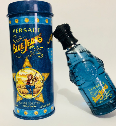 perfume versace blue jeans masculino 75ml original