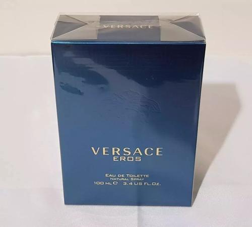 perfume versace eros masculino 100% original - promoção