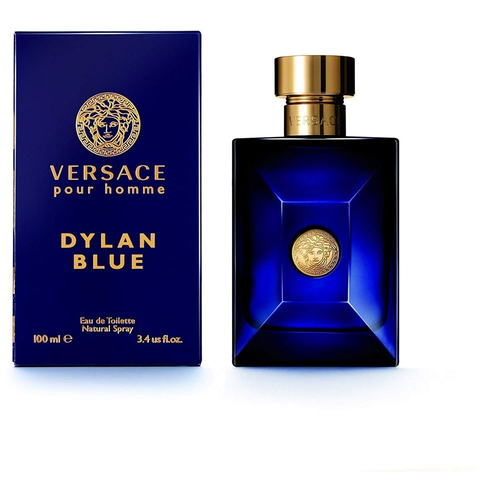 Hombre Perfume 4oz Blue 100ml Edt Versace 3 Dylan 2HYeWED9bI