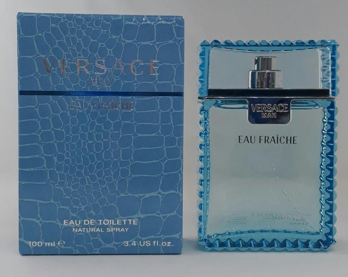 04e312492 perfume versace man eau fraiche 100ml edt + brinde amostra. Carregando zoom.