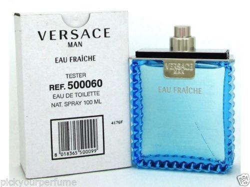 d6cfbf5e0 Perfume Versace Man Eau Fraiche Edt 100ml Original Tester - R$ 212 ...