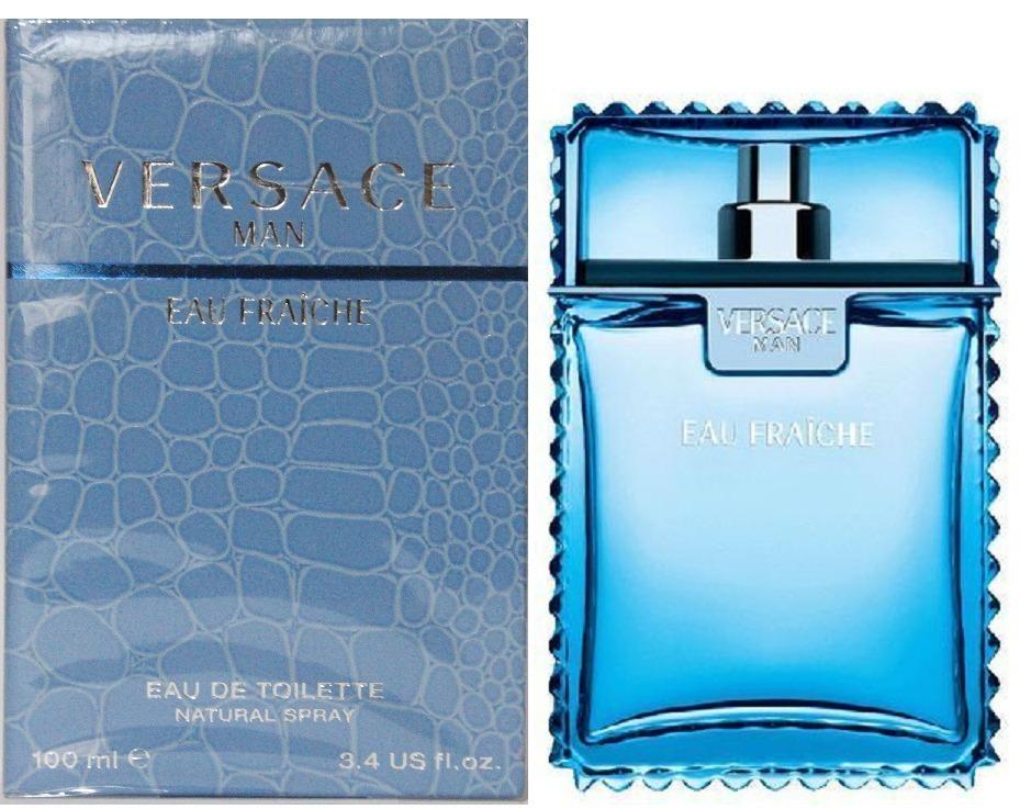 ea23ca37a Perfume Versace Man Fraiche Masc 100 Ml *oferta 40% Off - R$ 247,00 em  Mercado Livre