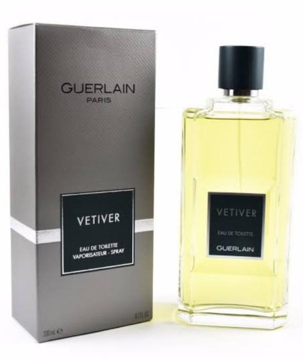 Vetiver Perfume Guerlain Original Edt Nuevo 200ml Msi L5q34ARj