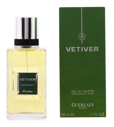 perfume vetiver guerlain 50 ml eau de toilette -original