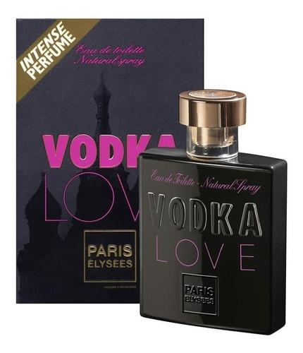 perfume vodka love feminino 100 ml 100% original e lacrado