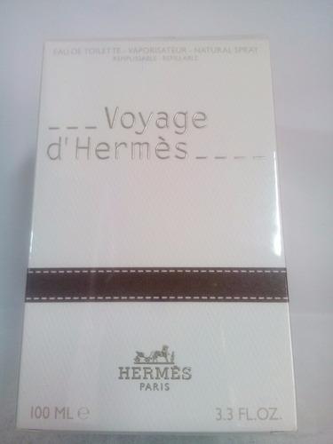 perfume voyage d'hermes unissex 100 ml importado original