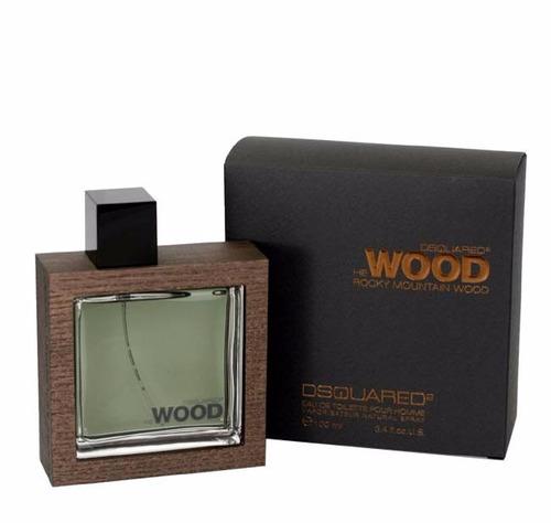 perfume wood dsquare2 (masc) - original - precio d freeshop