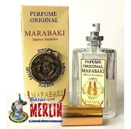 perfume y talismán marabaki - directo desde cuba