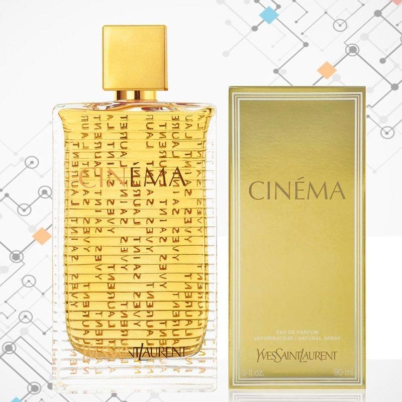 Perfume Ysl Cinema Feminino Edp Original E Autentico 90ml R 489