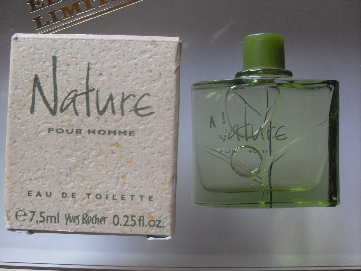 Perfume Miniatura Coleccion Yves Rocher Nature Homme 5 Ml 23900