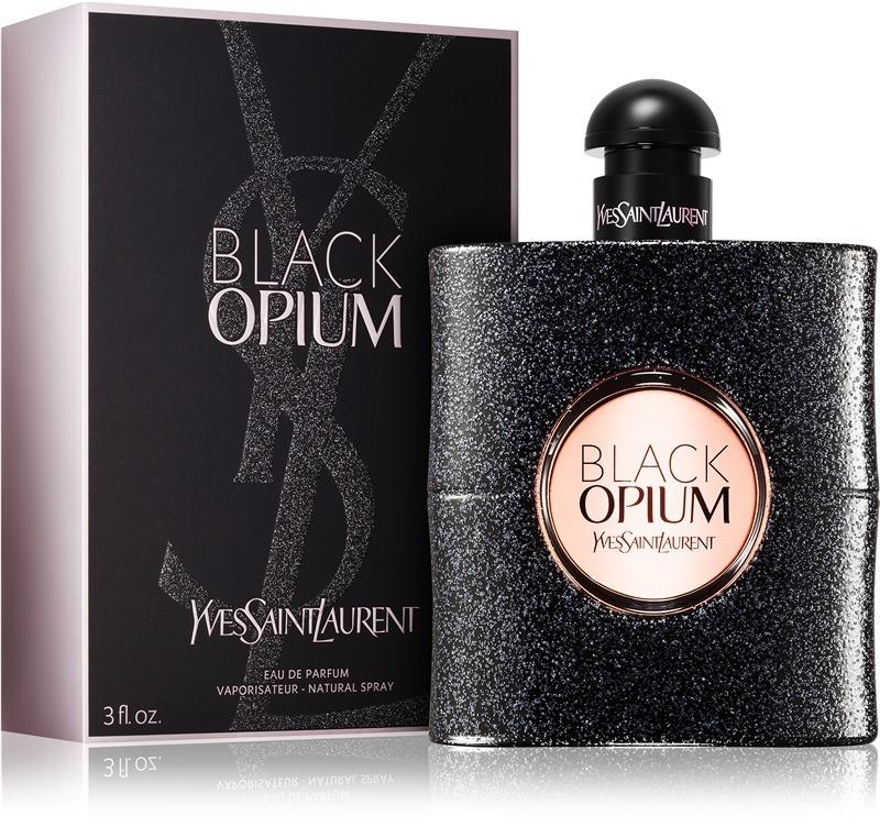 90 Perfume Nuevo Black Laurent Yves Ml Saint Opium yfgY7m6Ibv