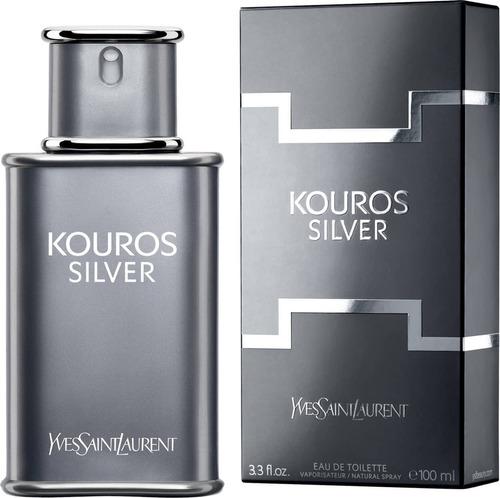 perfume yves saint laurent kouros silver 100ml para hombre